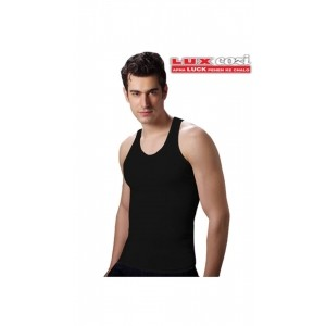 Lux Cozi Derby Black Fashion Vest