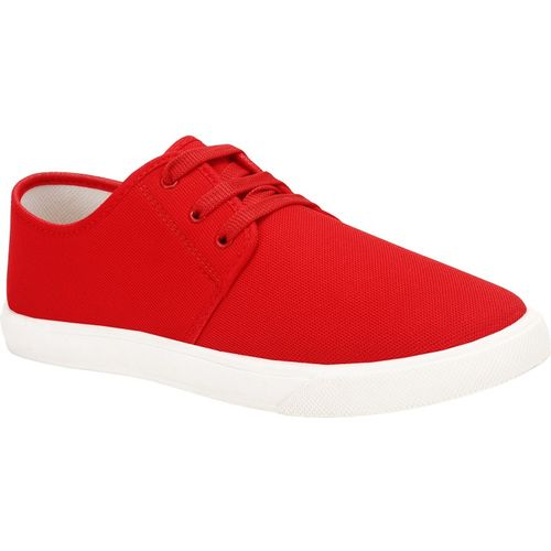 Super Matteress Red Casual Shoes For Men