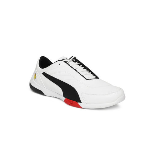 Puma PUMASF Kart Cat III White Black-RoWhite Unisex-Adult Casual Shoes