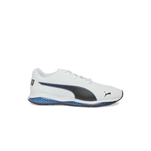 Puma Men White & Blue Cell Ultimate SL Sneakers