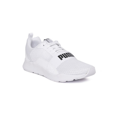 Puma Unisex Running Wired White Sports Shoes