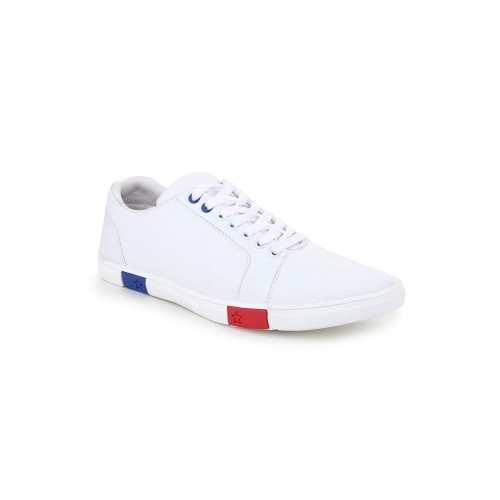 D-SNEAKERZ White Casual  Sneakers Shoes For Men