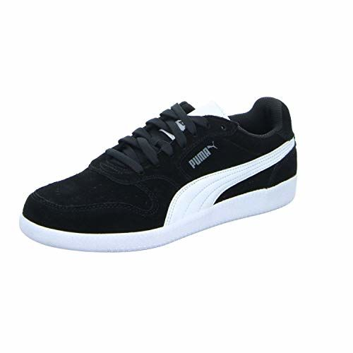 Puma Black Synthetic Lace Up Sneakers