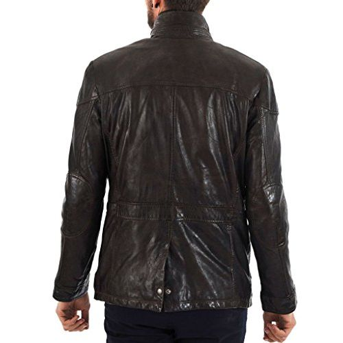 Noora NOORA Men's Pure Leather Jacket