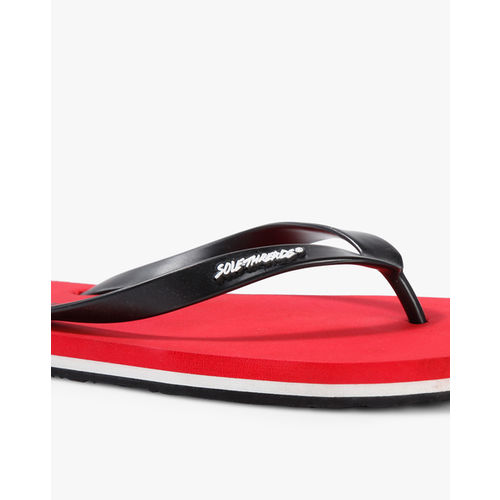 Sole Threads Thong-Strap Flip-Flops with Branding