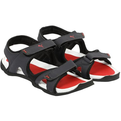 df25eca7fad4 Buy Puma Men Periscope-Black-High Risk Red Sports Sandals online ...