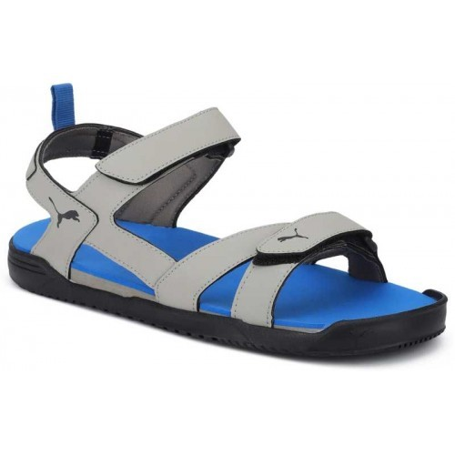 ee487a85c497 Buy Puma Men Elephant Skin-Strong Blue- Black Sports Sandals online ...