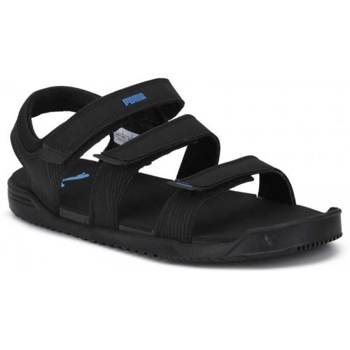 bbccfc425304 Buy Puma Men Black-Dark Shadow-Turkish Sea Sports Sandals online ...