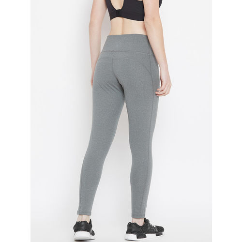 Adidas Women Grey Believe This High-Rise 7/8 Training Tights
