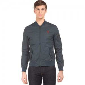 U.S. Polo Assn Full Sleeve Solid Men Jacket