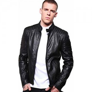 MOZRI Black Pure Genuine Leather Jacket