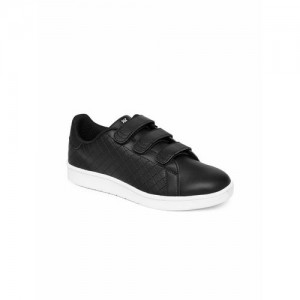 361 Degree Women Black Skateboarding Shoes