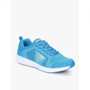 Seven By Ms Dhoni-Vulcan Blue Running Shoes