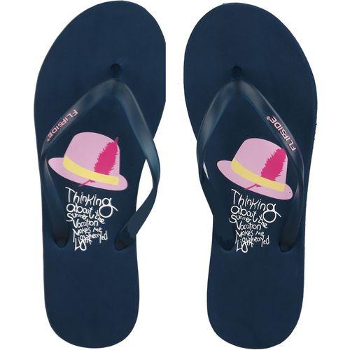 Flipside Vacation Teal Flip Flops