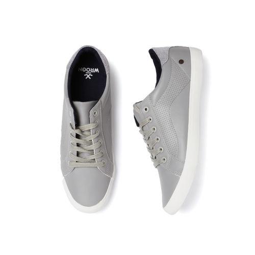 Buy WROGN Men Grey Sneakers online