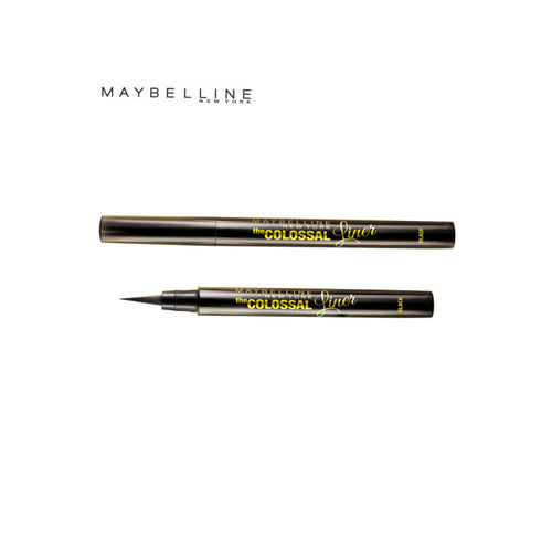Maybelline The Colossal Liner & Intense Crayon Passionate Plum Lipstick