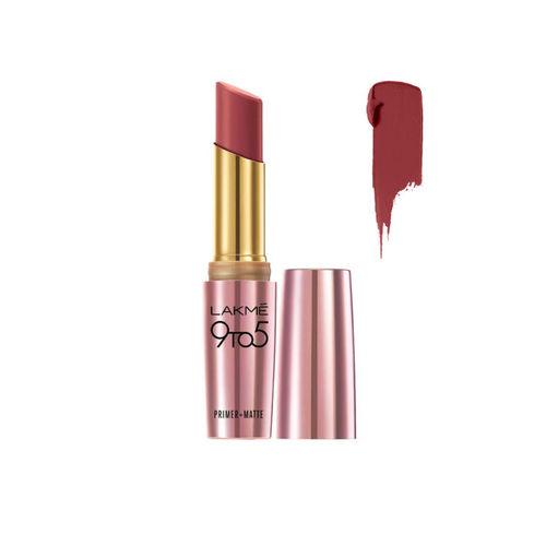 Lakme MP7 Rosy Sunday 9 to 5 Primer + Matte Lip Color 3.6 g