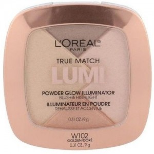 L'Oreal True Match Lumi Powder Glow Illuminator Highlighter(W102 Golden)