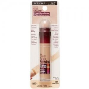 Maybelline Instant Age Rewind Eraser Dark Circles Concealer, 120 Light/Pale Concealer(120 Light/Pale)