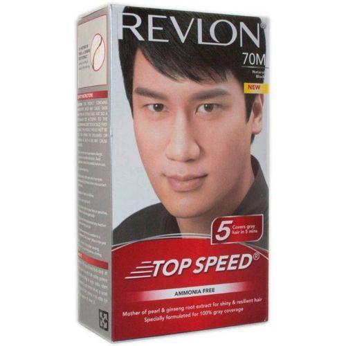 Revlon TOP SPEED 70M Hair Color(NATURAL BLACK)