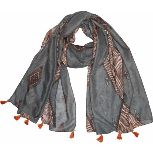 Get Wrapped Printed POLYESTER Women's Scarf