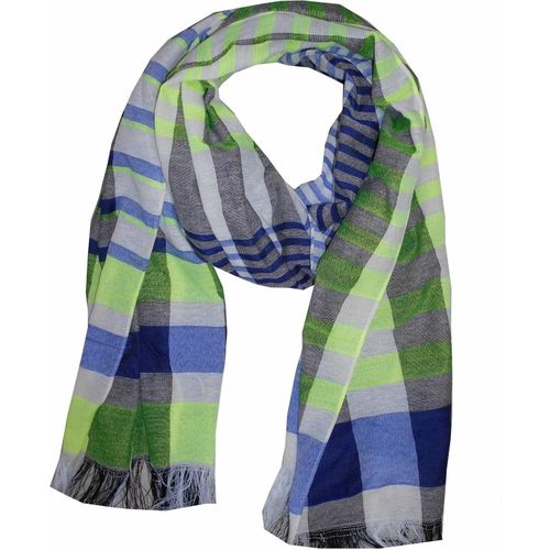 Get Wrapped Checkered POLYESTER Women's Scarf