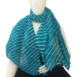 Hepburnette Self Design Cotton Women's Scarf