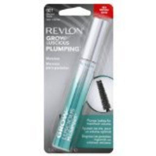 Revlon Grow Luscious Plumping Mascara, Blackest Black, 0.34 Fluid Ounce