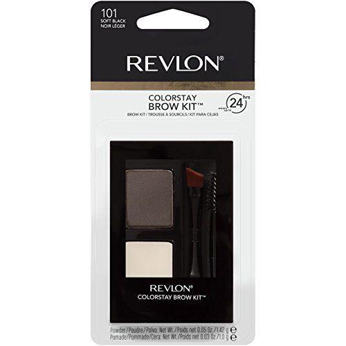 Revlon ColorStay Brow Kit (Soft Black)