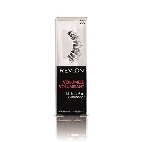 Revlon Volumize False Eyelashes, 91085 V75, 1 pr by Revlon