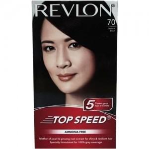 Revlon Top Speed Hair Color(Natural Black)