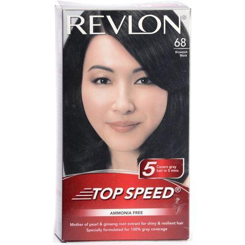Revlon Top Speed Hair Color(68 brownish black)