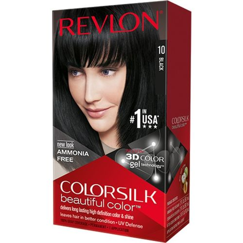 Revlon Black No-10 Hair Color(Colorsilk Beautiful Hair Color)