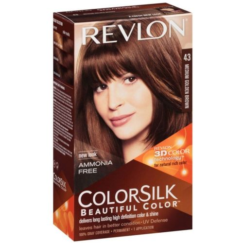 Revlon hair color Hair Color(Medium Golden Brown No.-43)