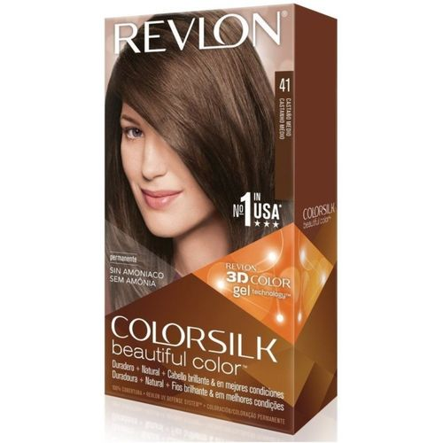Revlon Medium Brown No-41 Hair Color(Colorsilk Beautiful Hair Color)
