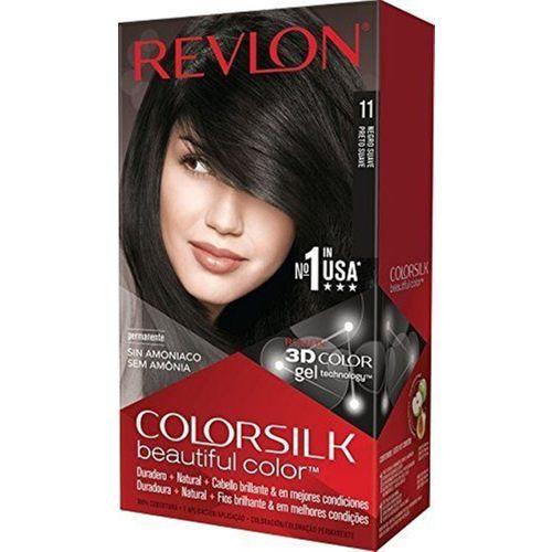 Revlon Colorsilk Hair Color(Soft Black 1WN)