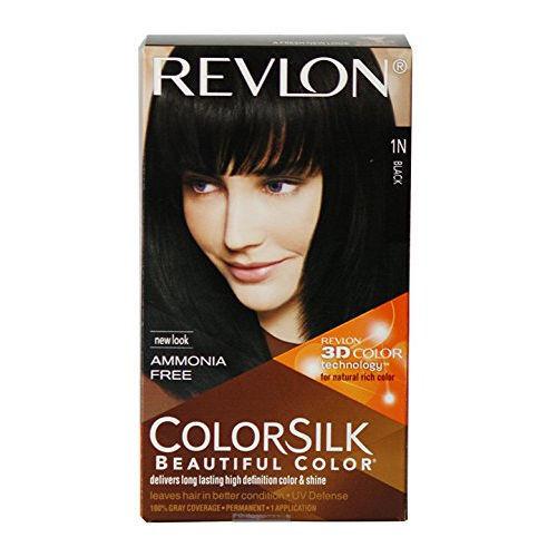 Revlon Colorsilk Hair Color Black 1N