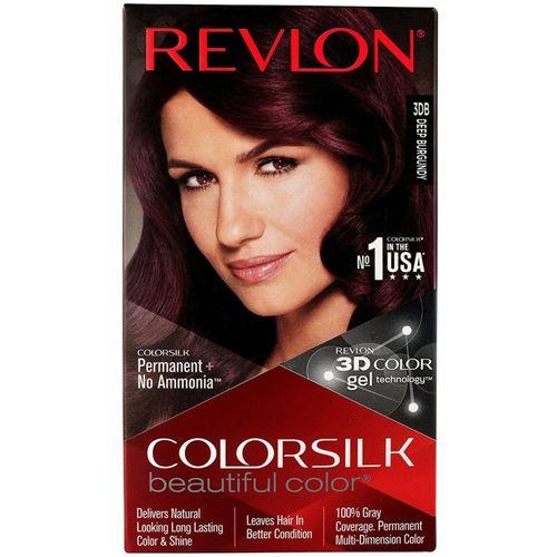 Revlon Colorsilk Hair Color With 3D Color Technology 3Db (Deep Burgundy) Hair Color(Deep Burgundy)