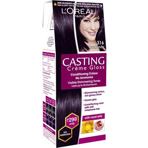 L'Oreal Paris Casting Creme Gloss Hair Color(316 Burgundy)