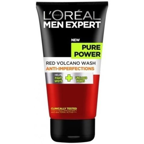 L'Oreal Paris Men expert pure power red volcano anti perfections Face Wash(150 ml)