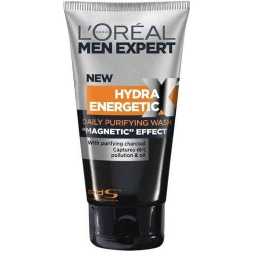 L'Oreal Paris Men Expert Hydra Energetic X-Treme Black Charcoal Face Wash Large Size Face Wash(150 ml)