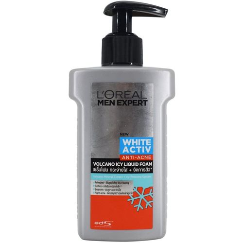 L'Oreal LOreal Men Expert White Activ Anti-Acne Volcano Brightening Foam Face Wash(150 ml)