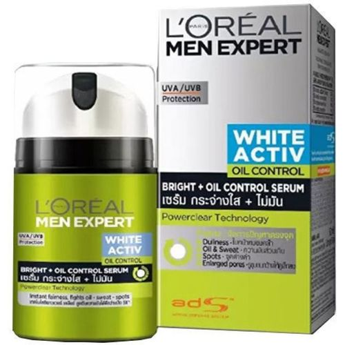 L'Oreal Paris Men Expert White Activ Oil Control Fluid(50 ml)