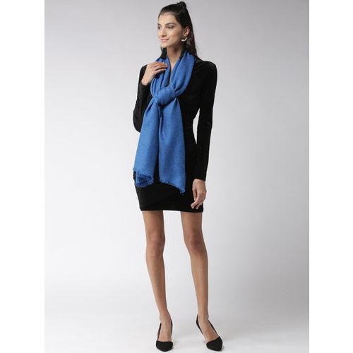 Style Quotient Women Blue Solid Stole