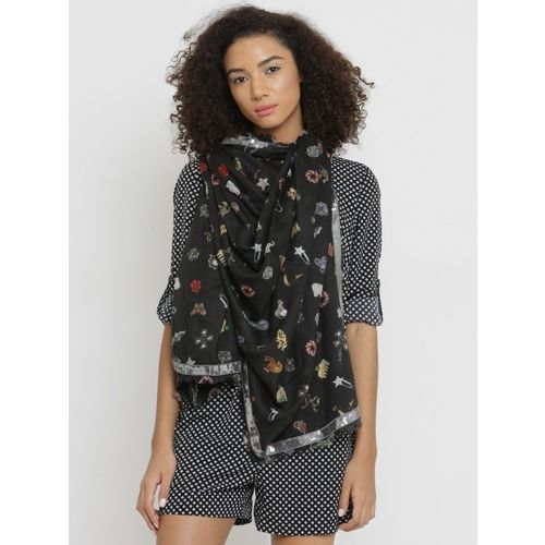 J Style Printed Viscose Rayon Women's Scarf