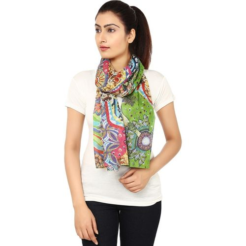 Anekaant Printed Cotton Women's Scarf