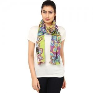 Anekaant Floral Print Cotton Women's Scarf