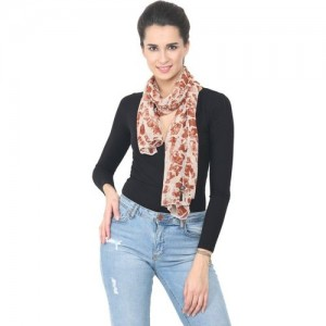 Trend Arrest Printed Polyester Women Scarf