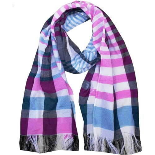 Get Wrapped Striped POLYESTER Women's Scarf