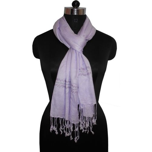 Get Wrapped Self Design 100% VISCOSE Women's Stole